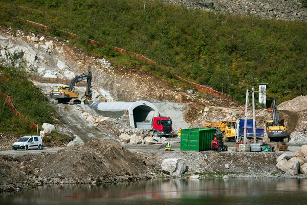 Tunnelåpning