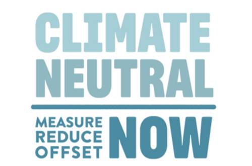Bannerlogo for FNs Climate Neutral Now