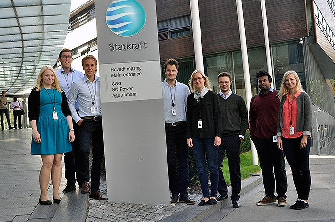 Statkraft trainees 2014