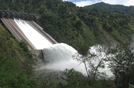 Hydro power in Ambuklao Philippines