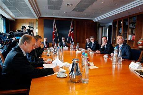 Norway and UK discusses increased energy cooperation