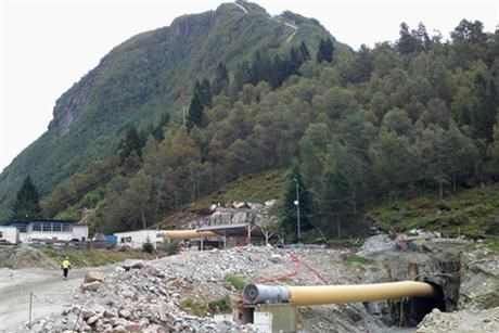 Hydro power expansion work in Norway